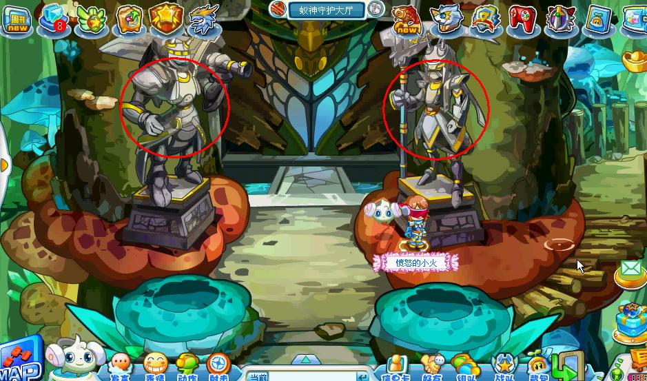 【奥拉星】蚁族王朝 副本攻略